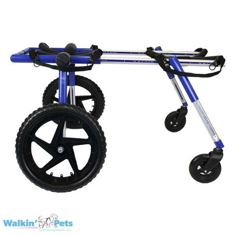 Large Fully Supportive Dog Wheelchair Side