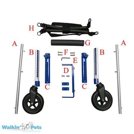 Medium Front Attachment Parts