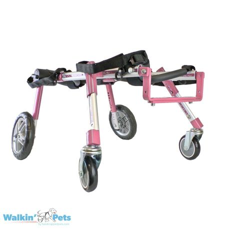 Medium Fully Supportive Dog Wheelchair Angle